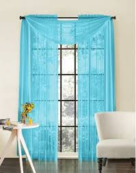 turquoise window curtains in home decor littlepieceofme