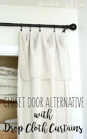 closet closet door alternatives best closet door alternative