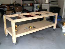 Ideas For Workbench With Drawers Design Garage Tool Bench Large Size Of Work Top Workbench Lights Build