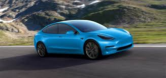 tesla model 3 tesla model 3 gets rendered in dozens of colors looks good in all