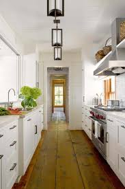 what is the best lighting for a galley kitchen 15 best galley kitchen design ideas remodel tips for