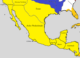 Aztec Empire Map Spanish Mexico Iberian Wedding Alternative History Fandom