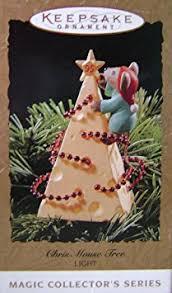 buy clearance hallmark keepsake chris mouse tree light up