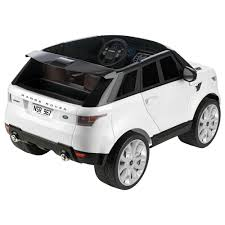 land rover kid range rover sport 12v white feber motor