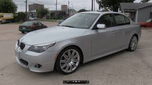 2008 Bmw 550i Interior 2008 Bmw 550i Sport Package Start Up Exhaust And In Depth Tour
