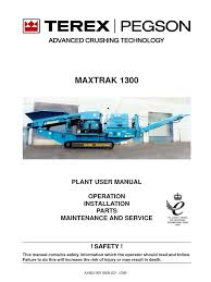1300 maxtrak manual parts electrician occupational safety and