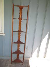Tall Narrow Shelves by Interior Antique Tall Narrow Corner Shelf Design Picture Cool