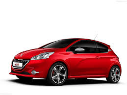 peugeot red peugeot 208 gti 2014 pictures information u0026 specs
