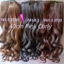 harga hair clip curly grosir hairclip import murah jual hairclip murah premium quality