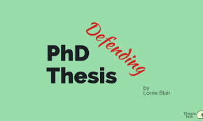 Thesis Hub   Knowledge sharing platform for researchers  Defending PhD Thesis