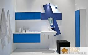 beautiful blue and white bathroom designs images and photos