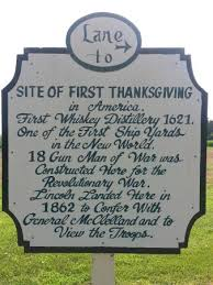 site of thanksgiving picture of berkeley plantation charles