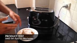 12 Slice Toaster Smeg Retro 50 U0027s Style Two Slice Toaster Tsf01 Unboxing