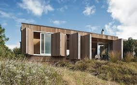 hut on sleds whangapoua architectural designs crosson architects