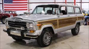 1969 jeep wagoneer 1990 jeep grand wagoneer youtube