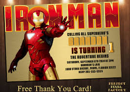 iron man birthday card halloween masken