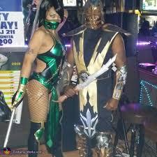 Scorpion Halloween Costume Kombat Jade U0026 Scorpion Costume