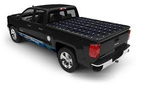 Electric Bed Cover Via Motors Söltrux Solar Cover Option For Electric Vtrux