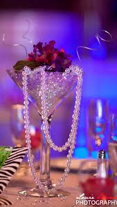 martini glass centerpieces wedding decoration ideas smedson