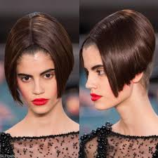 chanel haircuts sleek sharp and edgy inverted bob haircut at chanel cercle privé