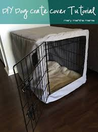 Crate Furniture Cushion Covers Diy Dog Crate Cover Tutorial Step By Step Instructions On How To