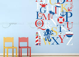 Wall Letter Decals For Nursery Alphabet Wall Decal Nursery Wall Decal Alphabet Wall Wall Letter