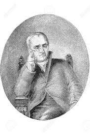 Was John Dalton Color Blind Gravure John Dalton Frs 6 September 1766 27 July 1844 Was Stock
