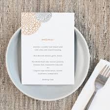 templates wedding reception menu template as well as bridal