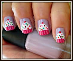 southern sister polish nail art wednesday birthday cupcakes