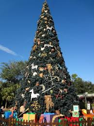 walt disney world christmas trees in violetlady in