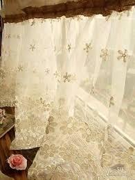 Burlap Shower Curtains 72 Shabby Rustic Chic Burlap Shower Curtain Lace Ruffles Flower