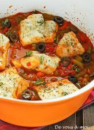 cuisiner du poisson de vous à moi cabillaud aux poivrons comme au pays basque