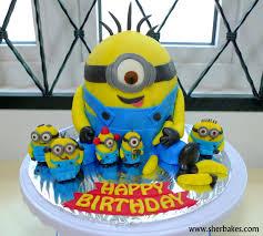 minion birthday cakes minions cakes