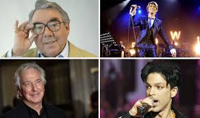 rock artist who died 2016 worst year for celebrity deaths 82 stars lost in four months in
