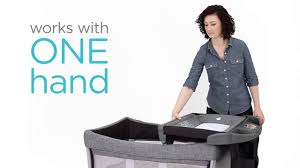 Mini Travel Crib by Joie Illusion Travel Cot Youtube