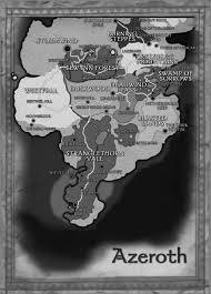 7 Kingdoms Map Azeroth Continent Wowwiki Fandom Powered By Wikia