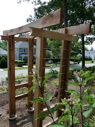 Build A Trellis by How To Build An Arbor Trellis Get Inspired With Home Design And