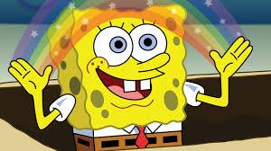 Rainbow Meme - spongebob rainbow meme meaning daily funny memes