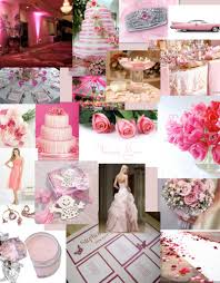 tbdress blog pink and silver wedding theme