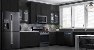 black cabinets with black appliances tips for matching cabinets with black stainless steel appliances