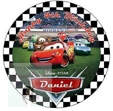 cars cake toppers cars lightning mcqueen cake topper 7 5 inches personalised