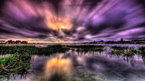 sky dark mauve sky purple clouds bold morning moody beautiful
