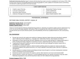 resume experience exles striking slet resume early childhood education