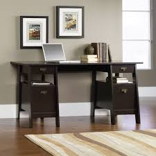 furniture modern home office desk ideas with design pc interior furniture cool sauder desks for your office room design ideas dark brown with area rugs and