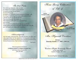 funeral programs exles 6 free funeral program templates microsoft word website