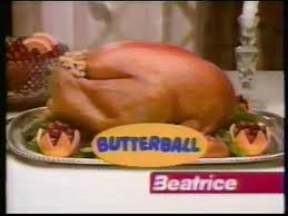 butterball thanksgiving commercial 1980s