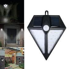 solar porch light 1 solar power sensor wall porch light human body