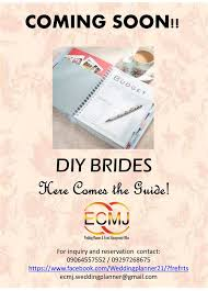wedding planner guide promos sample packages