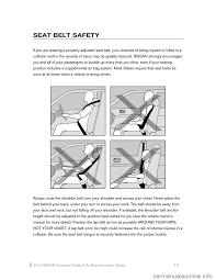 nissan sentra 2015 b17 7 g consumer safety air bag information guide