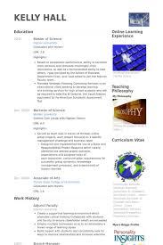 Resume Samples For Professors by Adjunct Faculty Resume Samples Visualcv Resume Samples Database